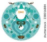 christmas  | Shutterstock .eps vector #238016884