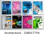 set of flyer design  web... | Shutterstock . vector #238017754