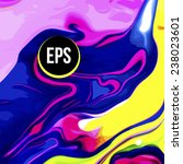 abstract paint swirl background   Shutterstock .eps vector #238023601
