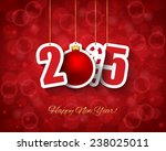 2015 new year background | Shutterstock .eps vector #238025011