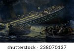 Sinking Of The Titanic The...