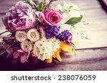 rustic bouquet | Shutterstock . vector #238076059