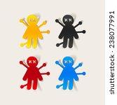 realistic design element ... | Shutterstock .eps vector #238077991