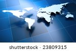 world map | Shutterstock . vector #23809315