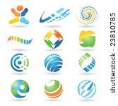 set of vector design elements 4   Shutterstock .eps vector #23810785