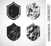 vector vintage insignias... | Shutterstock .eps vector #238108537