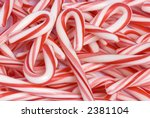 A Macro Shot Of A Pile Of Cand...