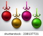 vector illustration of shiny... | Shutterstock .eps vector #238137721