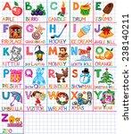 happy new year children's tape... | Shutterstock .eps vector #238140211