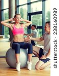 sport  fitness  lifestyle and... | Shutterstock . vector #238160989