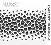 abstract grayscale geometric... | Shutterstock .eps vector #238168975