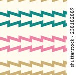 seamless zigzag fabric pattern | Shutterstock .eps vector #238182889