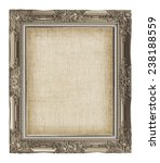 old golden frame with empty... | Shutterstock . vector #238188559