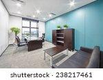 modern office interior  | Shutterstock . vector #238217461