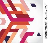 abstract geometric shape... | Shutterstock .eps vector #238217797