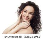closeup portrait of attractive  ... | Shutterstock . vector #238231969