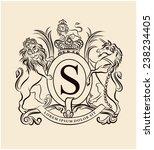 vintage emblem | Shutterstock .eps vector #238234405