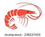 shrimp  | Shutterstock .eps vector #238237435