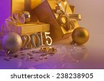 christmas decorations  gifts... | Shutterstock . vector #238238905