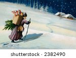 Saint Nicholas On A Moonlit...