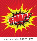 snap  wording sound effect set... | Shutterstock .eps vector #238251775