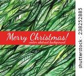 merry christmas  vector... | Shutterstock .eps vector #238252885
