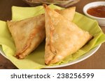 Samosas A Spicy Blend Of...