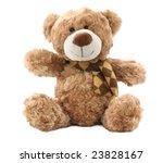 classic teddy bear isolated on... | Shutterstock . vector #23828167