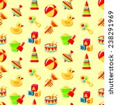 colorful pattern with different ... | Shutterstock .eps vector #238291969