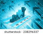 business graph | Shutterstock . vector #238296337