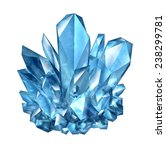 crystal gemstone object as a... | Shutterstock . vector #238299781