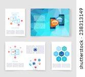 vector brochure design... | Shutterstock .eps vector #238313149