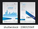 brochure template design.... | Shutterstock .eps vector #238315369