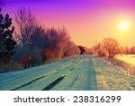 Beautiful Winter Sunrise Over...