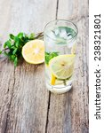 lemon mint drink | Shutterstock . vector #238321801