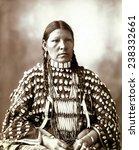 native american woman  portrait ... | Shutterstock . vector #238332661
