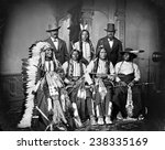 native americans  sioux indians ... | Shutterstock . vector #238335169