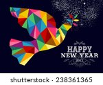happy new year 2015 greeting... | Shutterstock .eps vector #238361365