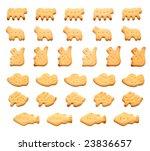 Zoo Crackers  Scroll Ornaments