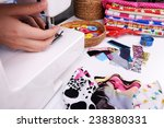 fashion design  close up | Shutterstock . vector #238380331