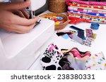 fashion design  close up | Shutterstock . vector #238380331