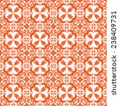ornamental seamless pattern.... | Shutterstock .eps vector #238409731