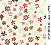 one pattern in floral style | Shutterstock .eps vector #23842996