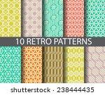 10 retro patterns. pattern...