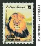 cuba  circa 2005   a stamp... | Shutterstock . vector #238446685