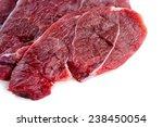 Raw Lamb Isolated