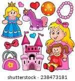 collection with toys theme 1  ...   Shutterstock .eps vector #238473181