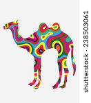 tract colorfully  art vector...   Shutterstock .eps vector #238503061