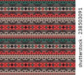 seamless vector tribal texture. ... | Shutterstock .eps vector #238503091
