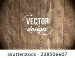 vector wood texture. background ... | Shutterstock .eps vector #238506607